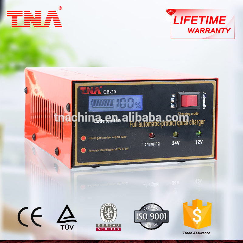 TNA 220v ac to dc 12v lead acid battery charger 15A CB-20