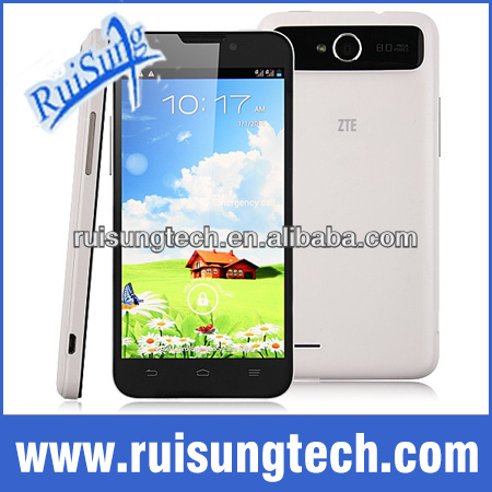 ZTE V987 phone MT6589 Quad-core CPU 4GB ROM 1GB RAM 8.0M Camera