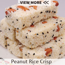 China factory supply snack food grain black rice crispy