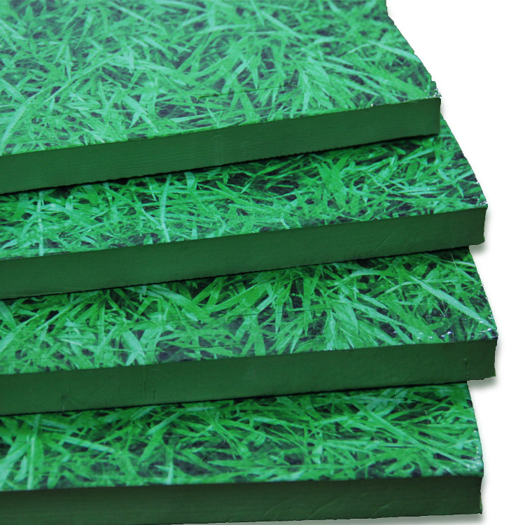 Environmental waterproof plastic EVA artificial grass foam mat for baby
