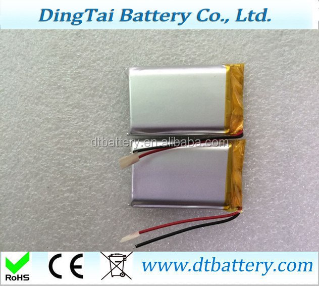 903748 3.7v 2000mah li-ion polymer battery for e-book reader, the story, game consoles, wireless mouse