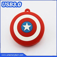 Avengers Captain America shield shaped usb flash drive 2015 wholesale