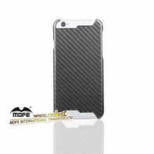 Black Fashion Carbon Fiber Mobile Phone Case Cover For Iphon 6