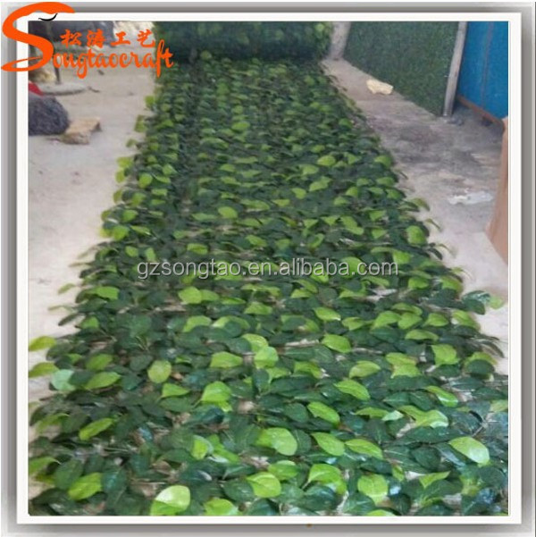 Artificial turf foliage green plastic artificial turf artificial fence
