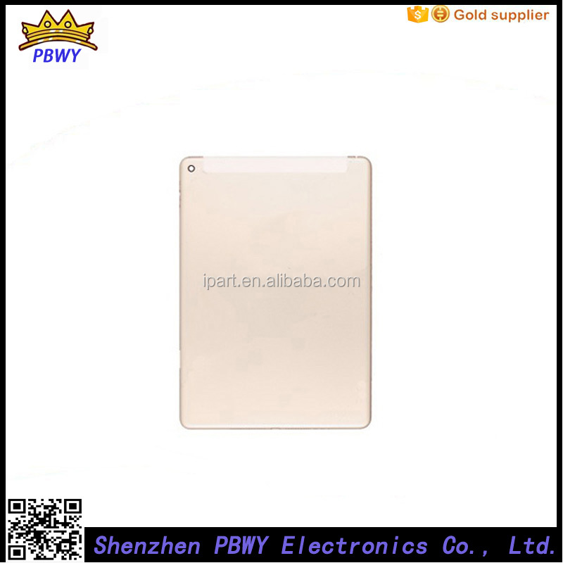 Factory Price Battery Cover For Ipad air 2 Battery Housing, For Ipad air 2 Back Rear Housing Cover
