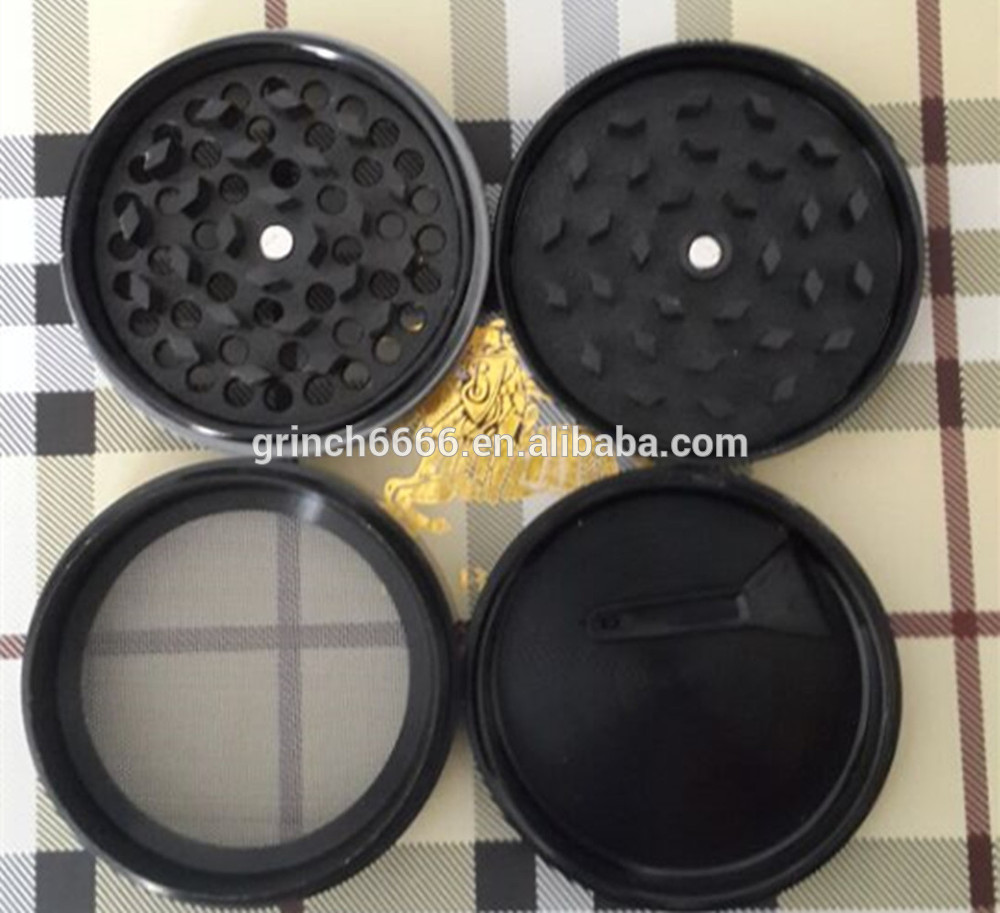 High quality Hot sell Hot sell 4 part Herb grinder with handle