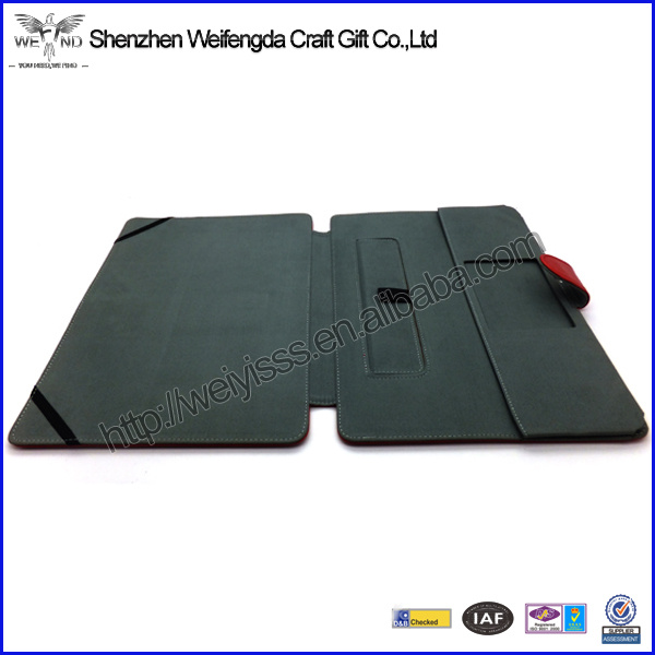Factory Hot Sell Handmade Fashion Womens Leather Portfolio