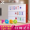 Free Combination Letters Acrylic Cinematic Custom