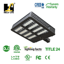 300W DLC listed wifi control smart system Parking lot light.LED shoebox light
