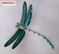 High quality wholesale metal dragonfly wall decor