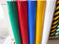 high intensity reflecting film/plastic reflective marker material