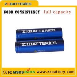 Factory sales 3000MAH ICR lithium rechargable 18650 battery, 1.2v nimh aaa recharge battery