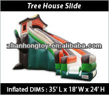 2013 hot sale inflatable dry slides