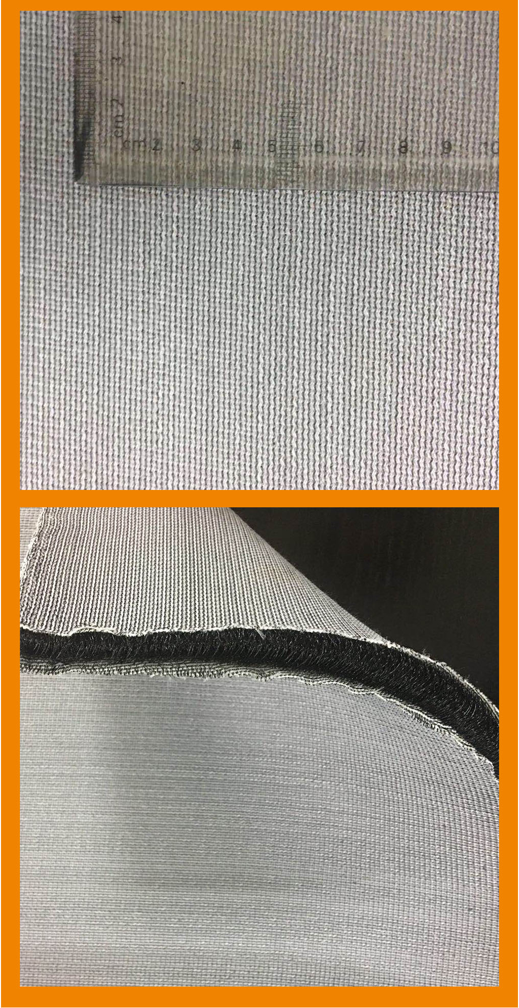 great supporting knitted polyester fabric mesh (golf mat material)