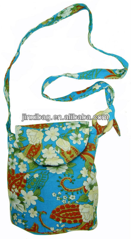 fashion flower design cheap bags fashion with long shoulder strap