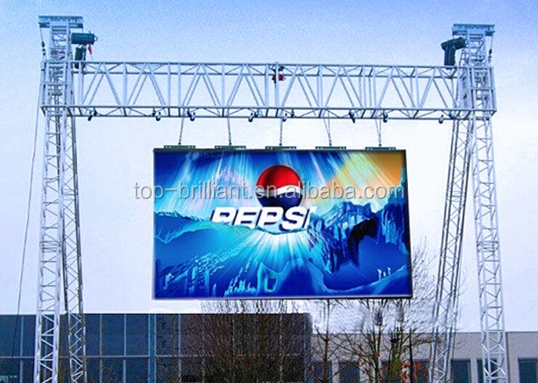 3m x 2m and 4m x 3m outdoor led video wall panel/ P10mm led display/pantallas led outdoor