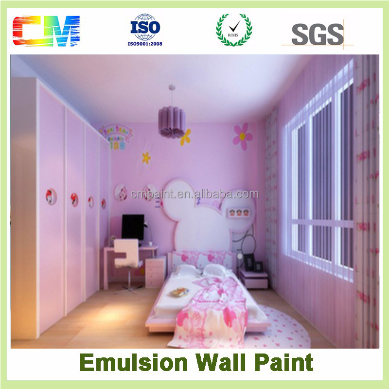 Best quality spray latex paint interior wall paint for wall decoration