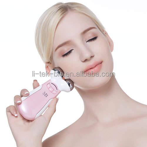microcurrent face skin massage machine