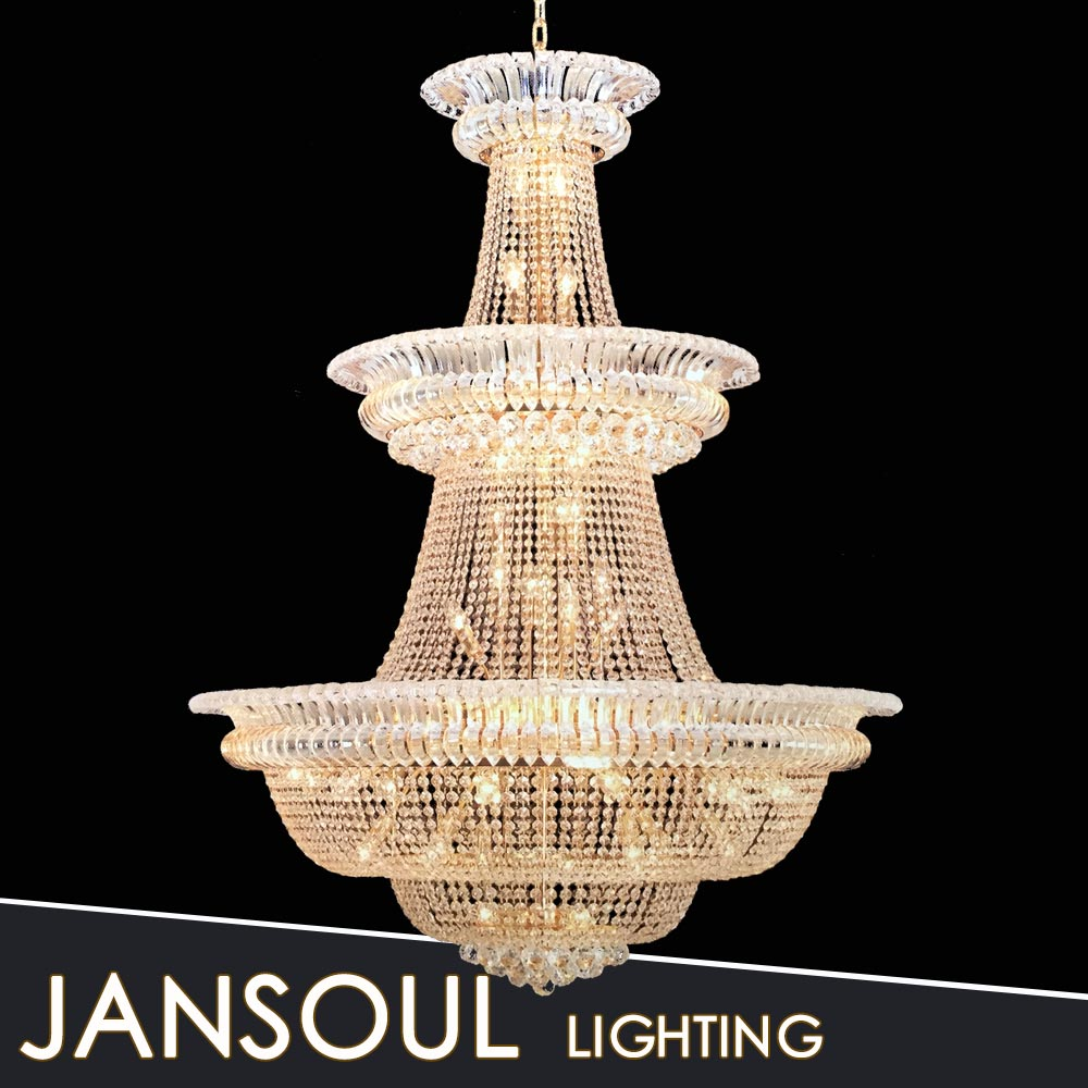 Classic empire crystal lighting design home interior light
