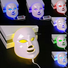 7 color led lights therapy beauty facial Mask