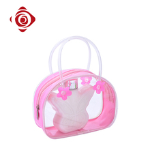 Transparent pvc plastic waterproof promotion gift cosmetic bag