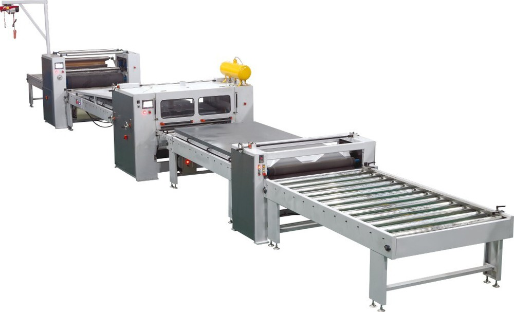 Foshan TC Supply PVC laminating machines for plywood and MDF