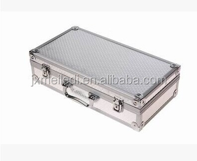 Heavy duty professional aluminium good design storage CD DVD locking carrying tool case