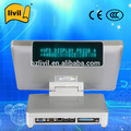 15'' touch CE certificate windows double touch pos machine with restaurant pos software