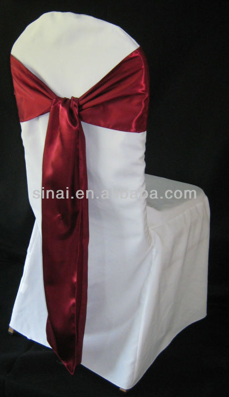 burgundy/Chair Stain Sashes