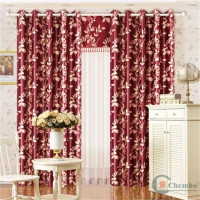 China suplier luxury block out curtains and drapes for living room