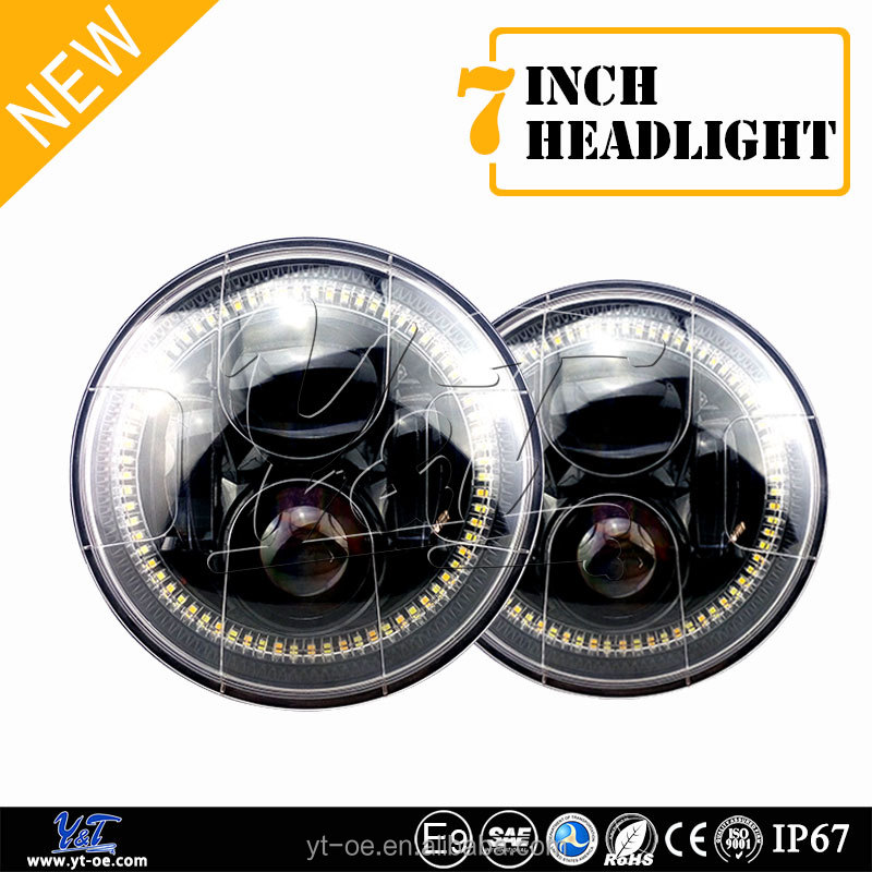 Dustproof explosion-proof custom old car 5 3/4 projector led 6 inch sealed beam headlight