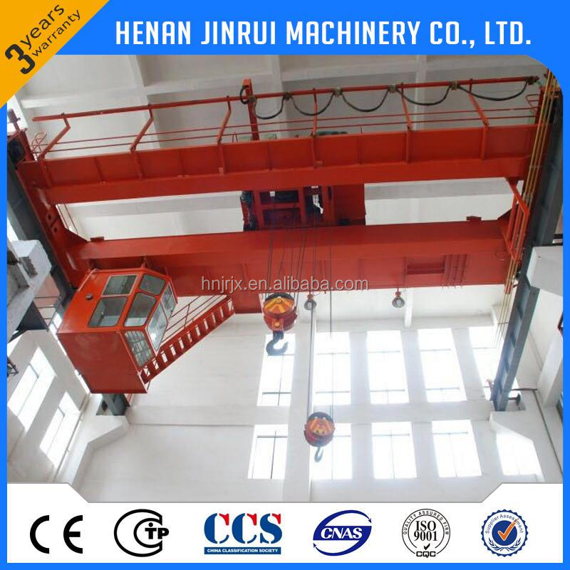 Industrial Professional Qd Double Girder Hanger Overhead Bridge Crane