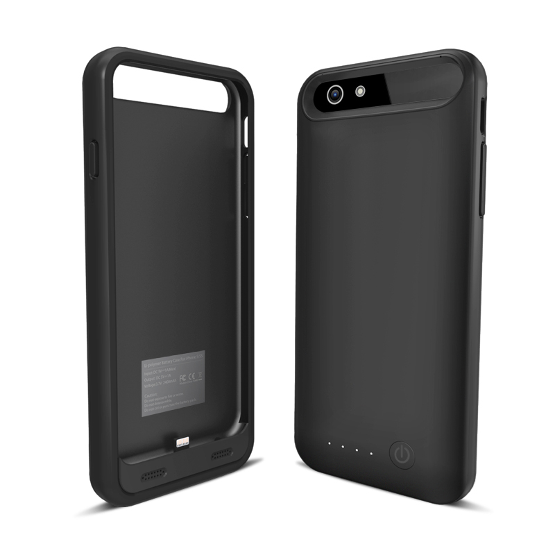 iFANS MFI 3100mAh Battery Power Case for iPhone 6/6s with multicolor bumper for full round safeguard,OEM provided.