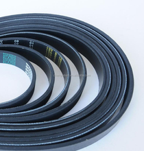 CR EPDM rubber ribbed belts poly industrial v belt for aircompressor v belt