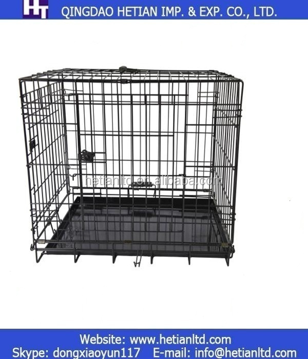"Extra Large 48"" Folding Pet Dog Cat Crate Cage Kennel"