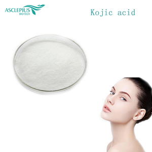 Cosmetic Raw Material Whitening 99% Purity Kojic Acid