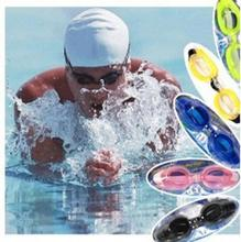 Hot sale Anti Fog UV Swimming Goggle Adjustable Glasses With Nose Clip and Ear Plug Free shipping