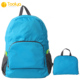 Customize cheap price light weight waterproof polyester travel folding backpack