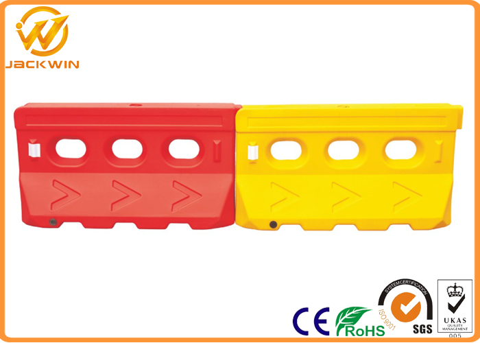 Anti UV Traffic Plastic Pliable Water Fill Road Safety Barrier Block For Sale
