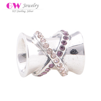 Beads Charm Globalwin Factory Wholesale 925 Sterlign Silver Diy Bracelet Chain Charm