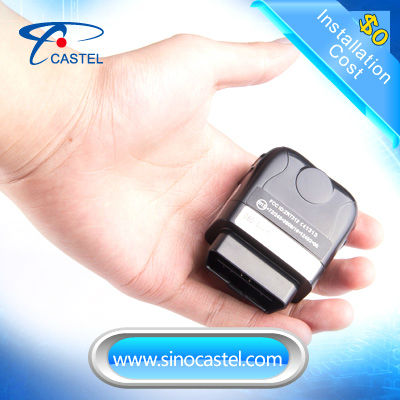 OBD differential GPS super mini gps vehicle tracking