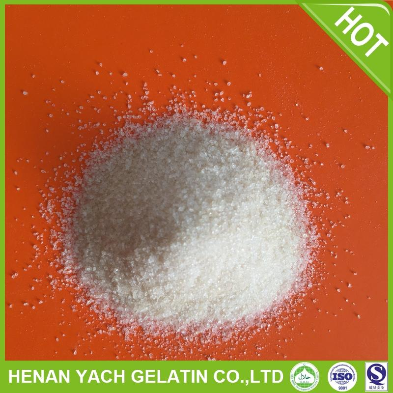Professional 180 bloom food additives gelatin with high quality