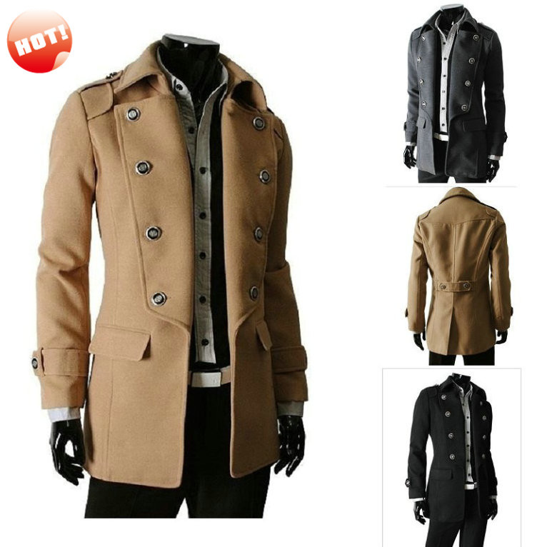 Cheap Double Breasted Military Jacket Men, find Double Breasted ...