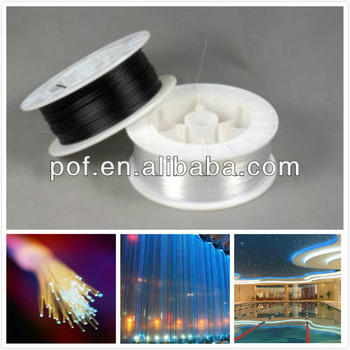 Illumination Optic Fiber ,sparkle LED fiber optics ,Fiber optic end light cable