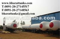 LPG Gas Transportation Tank