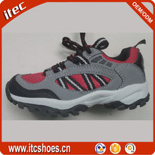 Good quality factory price children hiking shoes unisex kids outdoor shoes