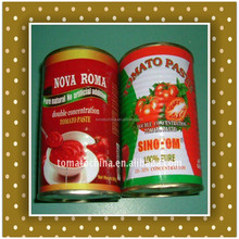 28-30% brix canned tomato paste from Sinotom