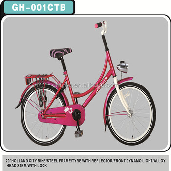 "20"" holland girls bike dutch city bicycle"