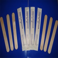 High Quality Wholesale sterilized box packed tongue depressor