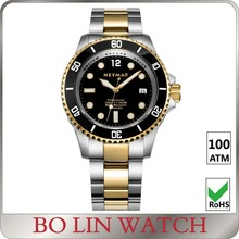 quality 904 SS watch, high grade finishing watch, diver watch factory